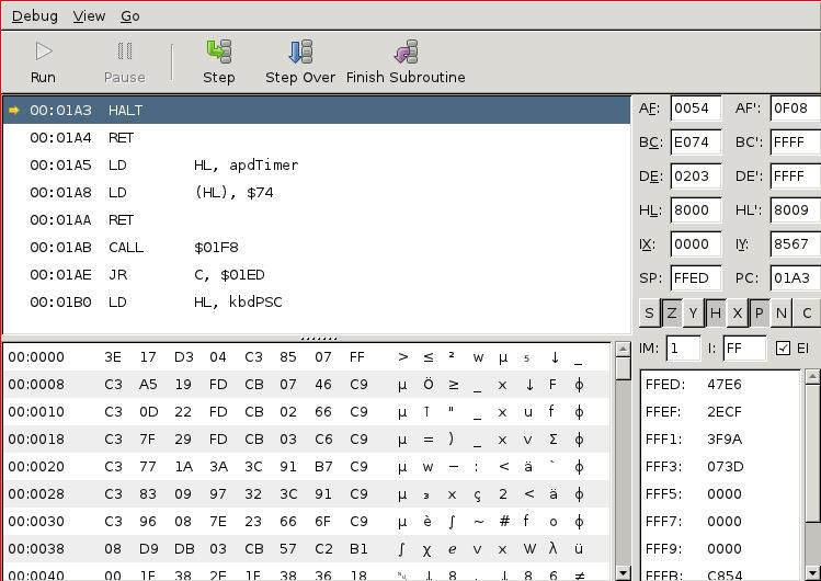 TilEm: Screenshots